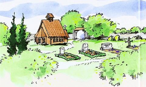 Zeichnung von Sabine Gerke