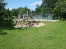Klettergerüst Spielplatz Borgerstraße